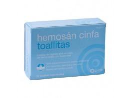 HEMOSAN CINFA HEMORROIDES 12 TOALLITAS